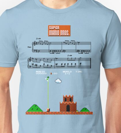 Super Mario Bros. Castle Complete Theme Unisex T-Shirt