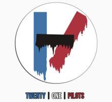 twenty one pilots shirt/stickers by ohgenny