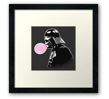 Bubblegum bubble - Vader Style Framed Print