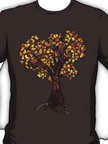 Heart Tree - Fall colours T-Shirt