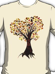 Heart Tree - Fall colours T-Shirt