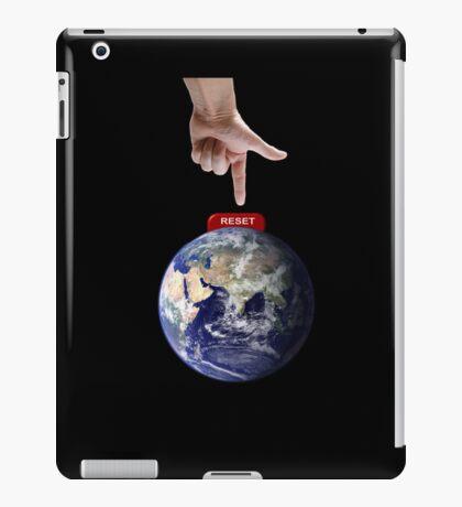 Reset Earth iPad Case/Skin