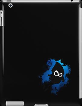 Ninja Squid iPad case by Krystle