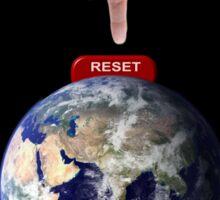Reset Earth Sticker