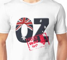 Oz flag This way up Unisex T-Shirt