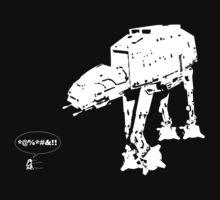 R2D2 - RUN! AT-AT Version T-Shirt