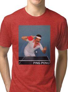 Ron Burgundy Pongs Tri-blend T-Shirt