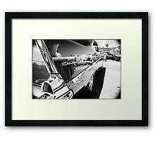 '57 Chevy - Reno, NV Framed Print