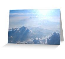 Cloud Walker Greeting Card
