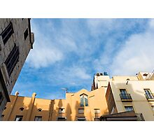 Barcelona buildings  Photographic Print