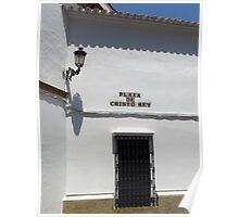 Plaza De Cristo Rey, Carmona Poster