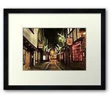 The Shambles, York Framed Print