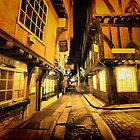 Little Shambles, York by Sandra Cockayne
