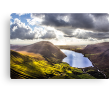 Wastwater from Scafell Pike, Cumbria Canvas Print