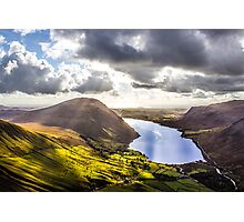 Wastwater from Scafell Pike, Cumbria Photographic Print