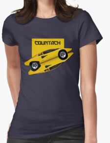 Countach Womens Fitted T-Shirt