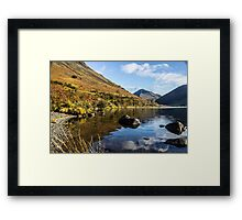 Scafell Pike from Wastwater Framed Print