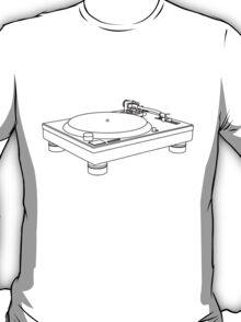 Technics 1200/1210 outline T-Shirt