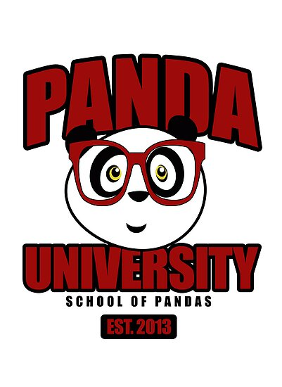 Panda University - Red by Adamzworld