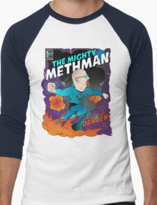 The Mighty Methman! Men's Baseball ¾ T-Shirt