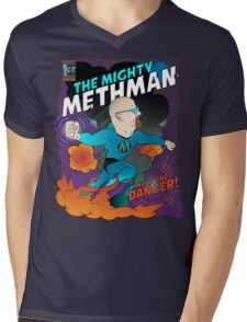 The Mighty Methman! Mens V-Neck T-Shirt