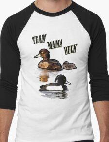 Team Mama Duck Men's Baseball ¾ T-Shirt