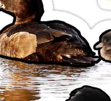 Team Mama Duck Sticker