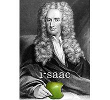 i-saac Newton Photographic Print