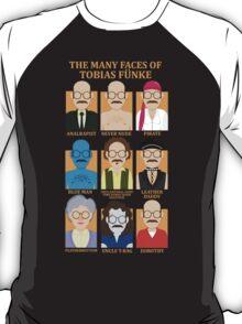 The Many Faces of Tobias Fünke T-Shirt