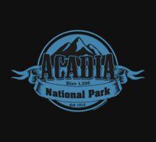 Acadia, Maine National Park Kids Tee