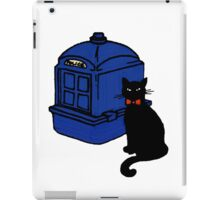 Kitty Who and the T.A.R.D.I.S iPad Case/Skin