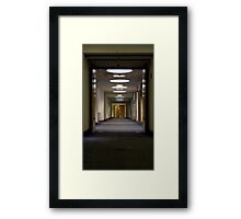 2nd floor corridor Framed Print