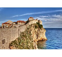 Old Town Wall, Dubrovnik Photographic Print