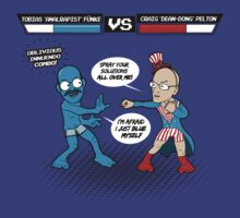 Tobias VS the Dean  by TimWhedon