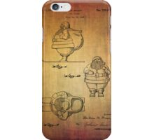 Santa Claus vintage toy patent from 1948 iPhone Case/Skin