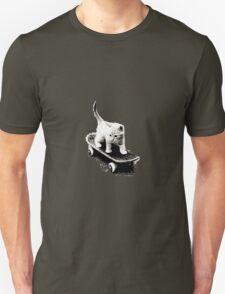 Skater Cat Unisex T-Shirt