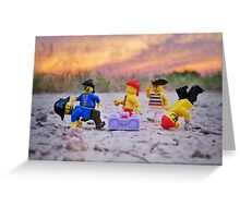 Sunset Dance Party Greeting Card