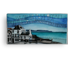 We are tied to the ocean Canvas Print