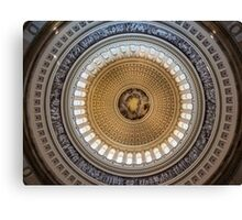 Capital Dome Canvas Print