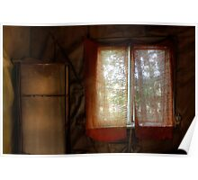 17.8.2013: Morning in Abandoned Farm House Poster