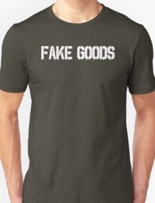 Fake Goods (white) Unisex T-Shirt