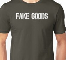 Fake Goods (white) Unisex T-Shirt