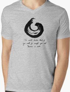 Lessons From the Earth 3 Mens V-Neck T-Shirt