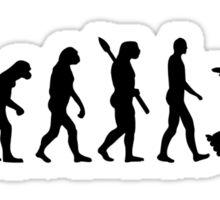 Evolution inline skating Sticker