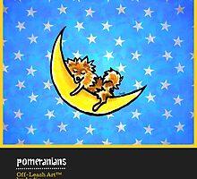 Pomeranians Off-Leash Art™ Vol 1 by offleashart