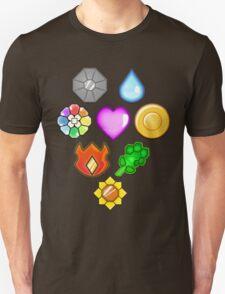 Pokémon! Gym Badges! Unisex T-Shirt
