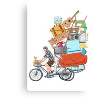 Life on the Move Canvas Print