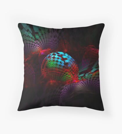 In Check Throw Pillow