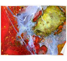 Under Indonesia (Plume Agate) Poster