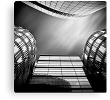Sky Plaza Canvas Print